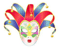 carnival masks create a colorful vector carnival mask