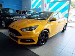 ford focus st yellow used ford focus st 3 yellow cars for sale motors co uk