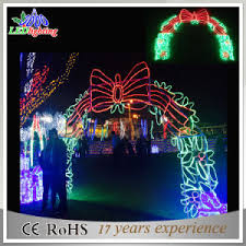 china outdoor led christmas light street decoration led arch motif