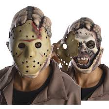rubies halloween 5 mask friday the 13th jason double mask walmart com