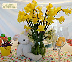 easter centerpiece how to make an easter tablescape and easter centerpiece for kids
