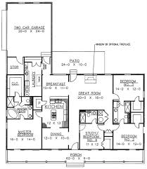 floor plans for country homes country home plan 4 bedrms 3 baths 2110 sq ft 123 1040
