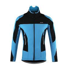 cycling jacket blue waterproof thermal fleece cycling jacket quirky jerseys