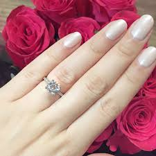 the prettiest pink u0027engagement ring u0027 nail polishes chase amie