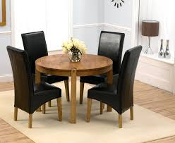 Round Dining Room Table With Leaf Dining Table Small Circular Dining Table And Chairs Small Round