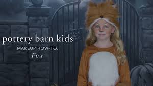 easy halloween makeup tutorial fox tutu costume for pottery barn