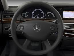 2014 S550 Interior 2009 Mercedes Benz S Class Steering Wheel Interior Photo