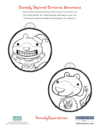 make your very own scaredy squirrel christmas ornaments scaredy