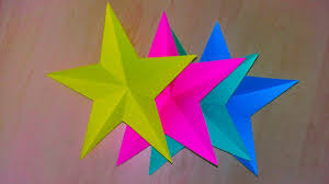 how to make simple u0026 easy paper stars 5 minute crafts to do when