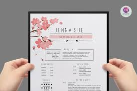 Resume Sample Korea by Modern Resume Template Resume Templates Creative Market