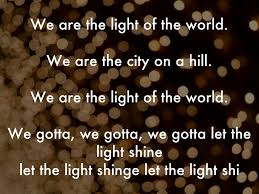 Let The Light Shine We Are By Lsumarlygrace