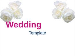 free editable wedding invitation templates ppt wedding