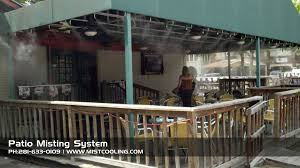 best outdoor misting systems mist cooling blog best patio