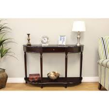 Entryway Console Table With Storage Frenchi Home Furnishing Dark Cherry Storage Console Table Mh159