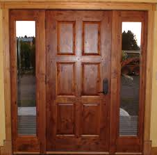 Solid Exterior Doors Refinish Exterior Best Solid Wood Door And Window With Narrow