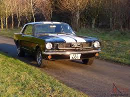 mustang notch back coupe 289 v8 manual 1966