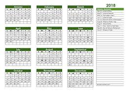 2018 Calendar Islamic Islamic Festivals Islamic Religious Calendar 2018