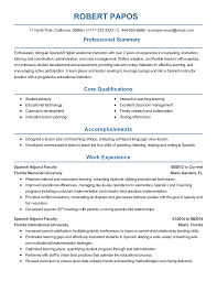 Experience In Resume Example by Tefl Resume Sample Media Specialist Sample Resume