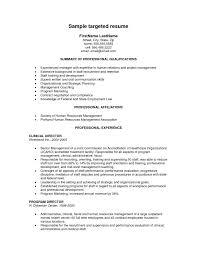 Best Resume Format Template Targeted Resume Template Resume Sample Nanny Caregiver Resume