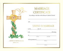 marriage certificate keepsake marriage certificate template 39