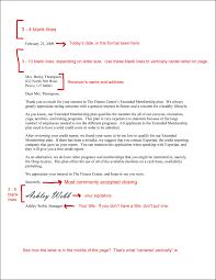 full block business letter sample images letter examples ideas