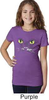 Toddler Boy Halloween T Shirts Girls Halloween Shirt Black Cat Purple Tee T Shirt Black Cat