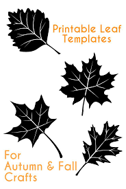 autumn leaf templates printable virtren com