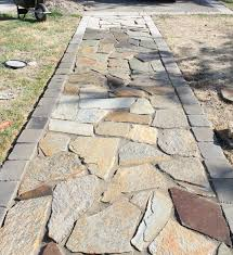 flagstone walkway google search patio u0026 garden pinterest