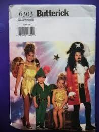 Disney Halloween Costume Patterns 7784 Sewing Pattern Disney Peter Pan Tinkerbell Costume Child U0027s