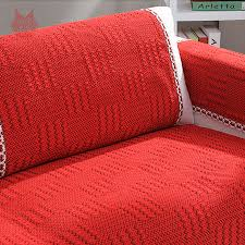 Cotton Sofa Slipcovers by Aliexpress Com Buy Modern Style Red Cotton Sofa Cover Palid