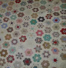 quilt flap not your everyday grandmother u0027s flower garden quilt