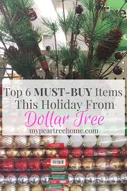 Where To Buy Christmas Tree Ornaments Save Money This Christmas At Dollar Tree My Pear Tree Home