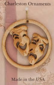drama masks ornament actor gifts drama masks