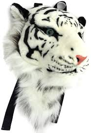 viahart authentic tigerdome white siberian tiger