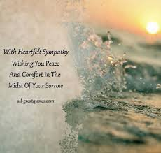 Poems Of Comfort For Loss Best 25 Deepest Sympathy Messages Ideas On Pinterest Sorry For