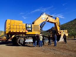 caterpillar launches 6015b hydraulic shovel with increased power