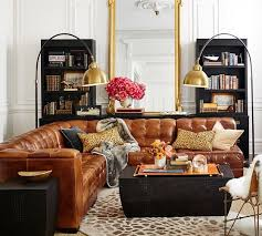 Pottery Barn Leather Couch 73 Best Pb Leather Furniture Images On Pinterest Leather