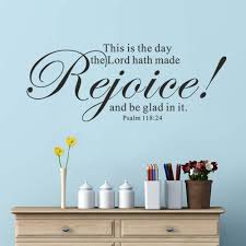 compare prices on bible 3d quotes online shopping buy low price bible verse vinyl wall art quote psalm 118 24 this is the day the lord