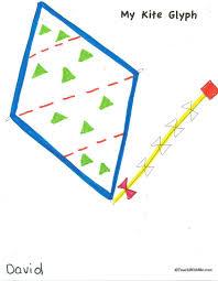 classroom freebies kite glyph
