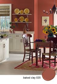 paint color for dining room benjamin moore baked clay love it