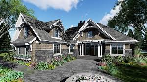 craftsman farmhouse plans plan 14648rk richly detailed craftsman house plan craftsman