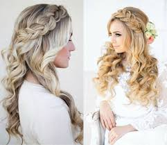 bridal hairstyles down wedding hairstyles long down with veil