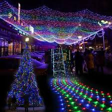 Outdoor Colored Christmas Lights by Online Buy Wholesale Net Lights From China Net Lights Wholesalers