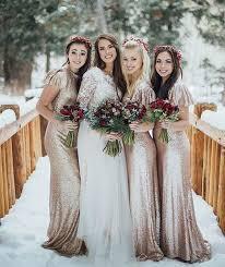 bridesmaids wedding dresses best 25 winter bridesmaid dresses ideas on winter