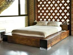 Low Profile King Size Bed Frame Wood King Size Bed Frame With Headboard King Size Bed Frame With