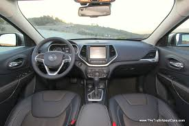 peugeot jeep interior 2014 jeep cherokee limited interior 004 the truth about cars