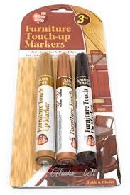 furniture wood floor scratch repair touch up pen light brown