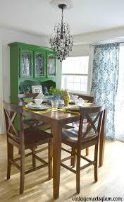 eclectic dining room reveal u2013 vintagemeetsglam