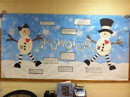 snowology bulletin board idea for winter anchor charts