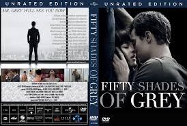 fifty shades of grey dvd cover u0026 label 2015 r0 ur custom art